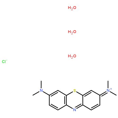 亚甲基蓝cas7220-79-3结构式