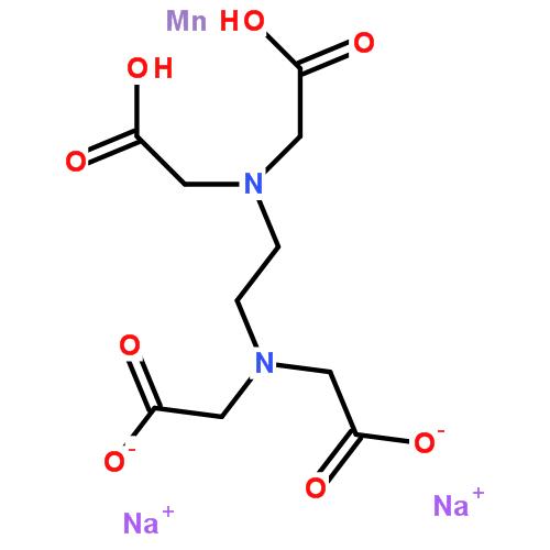 乙二胺四乙酸锰二钠|15375-84-5结构式